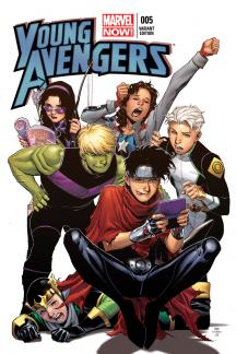 Young Avengers #5  (Cheung Variant)