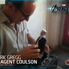 Clark Gregg Unboxes Hot Toys' Agent Coulson