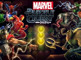 Marvel Puzzle Quest: Dark Reign now available for free download on iOS and Android devices
