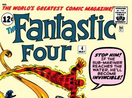 Fantastic Four (1961) #4 Cover