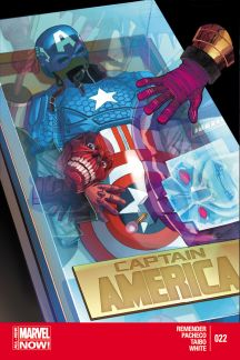 CAPTAIN AMERICA 22 (ANMN, WITH DIGITAL CODE)