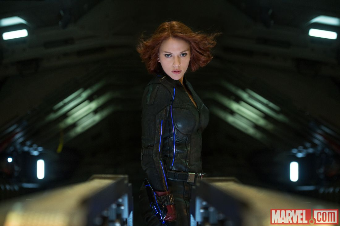 Black Widow in Age of Ultron