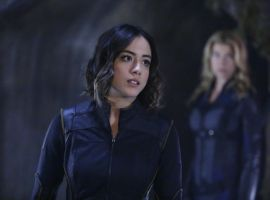 Chloe Bennet & Adrianne Palicki star as Agents Daisy Johnson & Bobbi Morse in Marvel's Agents of S.H.I.E.L.D.