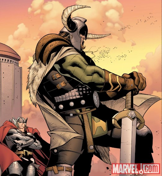 Thor and Heimdall
