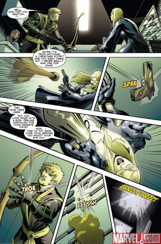 NEW AVENGERS: THE REUNION #2 preview page 3