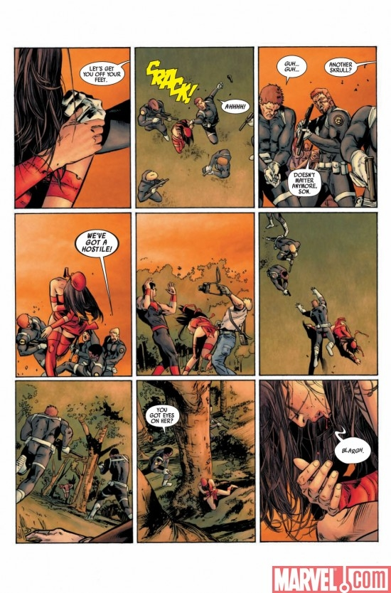 DARK REIGN: ELEKTRA # 1 preview page 2