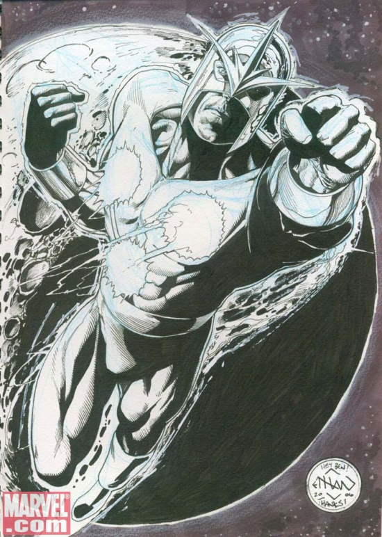 Nova by Ethan Van Sciver from Ben Morse's personal collection