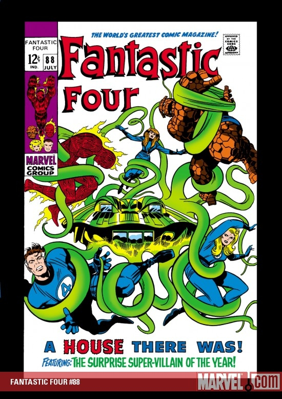 FANTASTIC FOUR #88