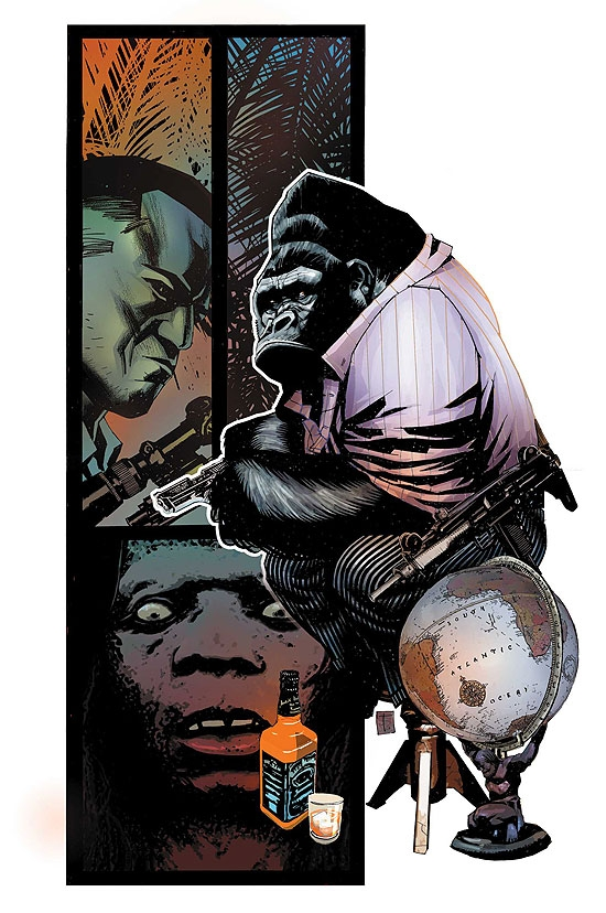 AGENTS OF ATLAS (2008) #2 COVER