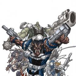 NICK FURY'S HOWLING COMMANDOS (2007) #1 COVER