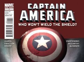 CAPTAIN AMERICA: WHO WON'T WIELD THE SHIELD #1 cover by Gerard Parel