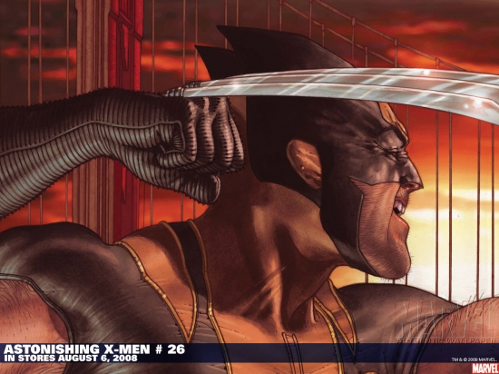 Astonishing X-Men (2004) #26 Wallpaper