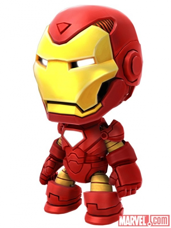 Iron Man costume in Little Big Planet