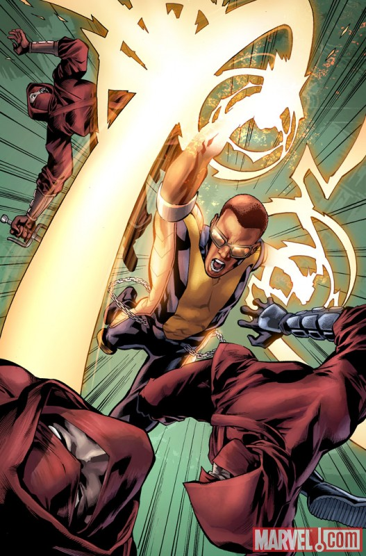 SHADOWLAND: POWER MAN #1 preview art by Mahmud Asrar 2