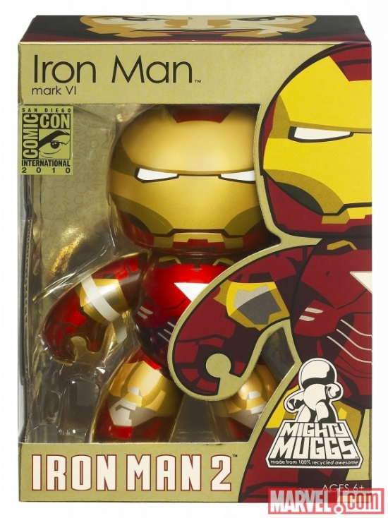 Iron Man 2 Mighty Mugg packaging