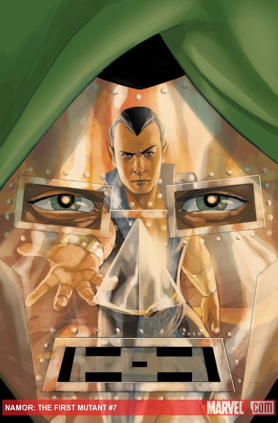 Namor: The First Mutant #7 cover by Phil Noto