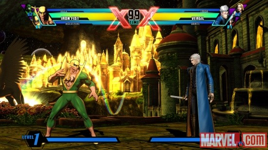Ultimate Marvel vs. Capcom 3 Iron Fist Screenshot 2