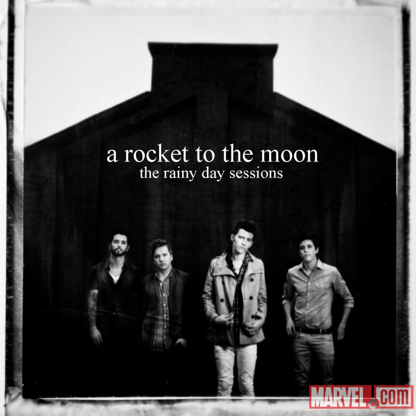 A Rocket to the Moon's 'The Rainy Day Sessions' album art