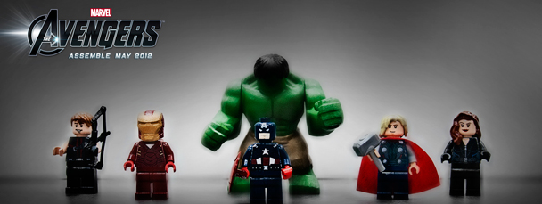 Images of Lego Avengers sets