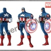 Captain America's new costume from Season 2 of The Avengers: Earth's Mightiest Heroes!