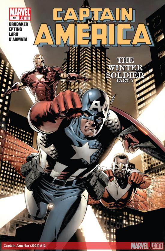 Captain America (2004) #13