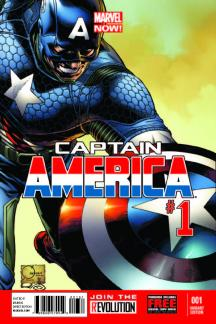 Captain America (2012) #1 (Quesada Variant)