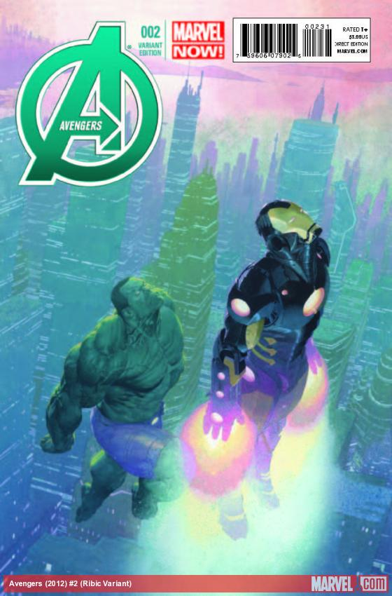 AVENGERS 2 RIBIC VARIANT (NOW, 1 FOR 50, WITH DIGITAL CODE)