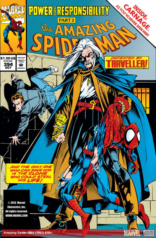 Amazing Spider-Man (1963) #394 Cover