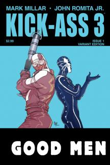Kick-Ass 3 (2013) #1 (Ferry Variant)