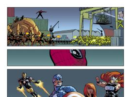 Superior Spider-Man #26 preview art by Javier Rodriguez