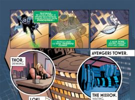 Loki: Agent of Asgard #1 preview page by Lee Garbett