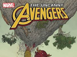 Uncanny Avengers (2015) #1 variant cover by Geof Darrow