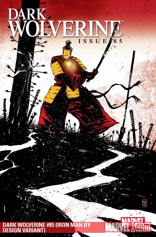 Dark Wolverine (2009) #85 (IRON MAN BY DESIGN VARIANT)