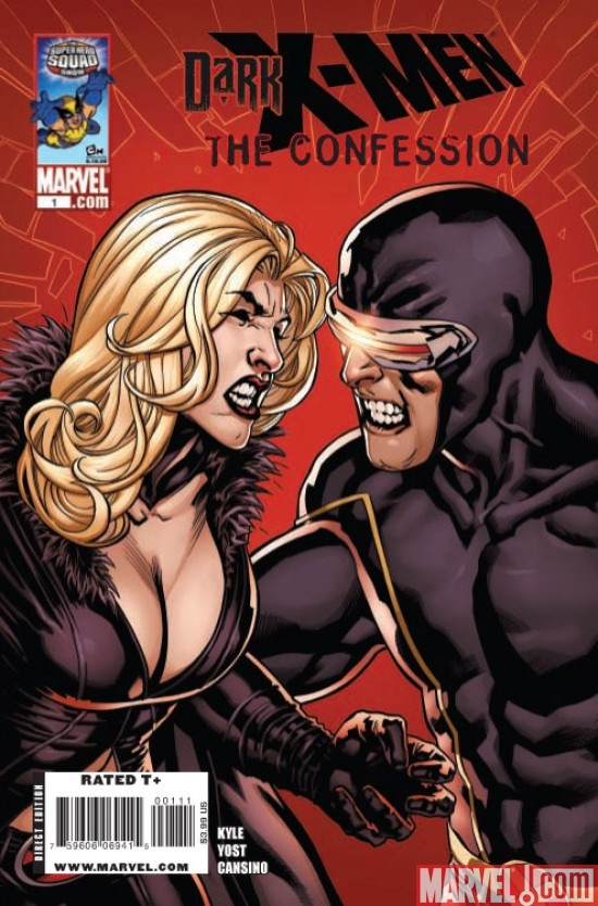 DARK X-MEN: THE CONFESSION ONE-SHOT