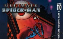 ULTIMATE SPIDER-MAN #110 cover