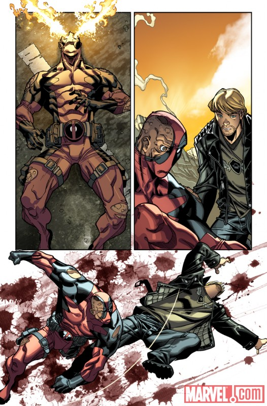 DEADPOOL #26 preview art by Carlo Barberi 4