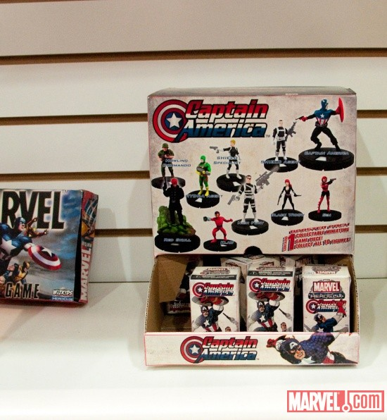 Captain America Booster Packs from NECA at Toy Fair 2011