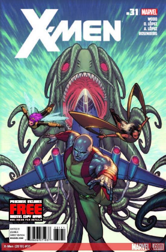 X-MEN 31 (WITH DIGITAL CODE)