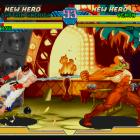 Screenshot of Venom vs. Ryu in Marvel vs. Capcom Origins