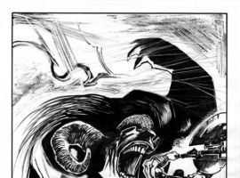 THE SAVAGE AXE OF ARES #1 art by Ted McKeever
