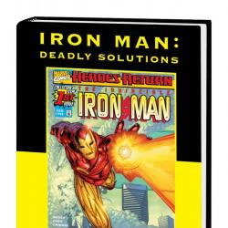 Iron Man: Deadly Solutions (Direct Market Only) (Hardcover)