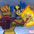 Animated Exclusive: Wolverine, Pyro and Iron Man