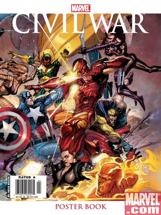 Civil War Poster Book