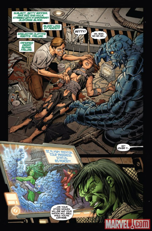 INCREDIBLE HULK #610 preview art by Paul Pelletier