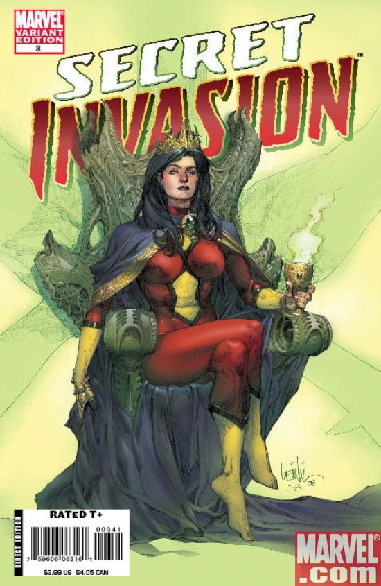 SECRET INVASION #3 variant cover by Leinil Francis Yu