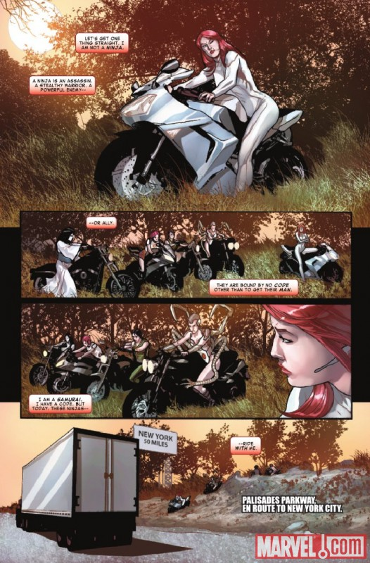 SHADOWLAND: DAUGHTERS OF THE SHADOW #2 preview page by Ivan Rodriquez