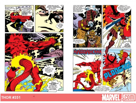 Heimdall vs. Surtur