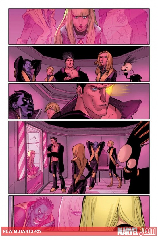 New Mutants #29 Preview Art by David Lafuente