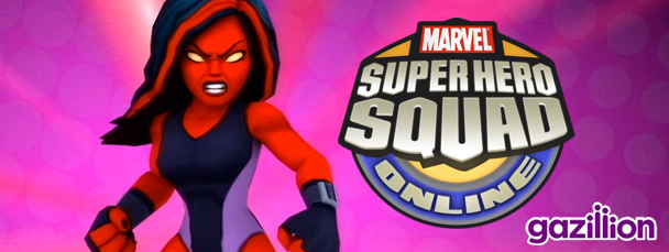 Super Hero Squad Online: Meet Red She-Hulk