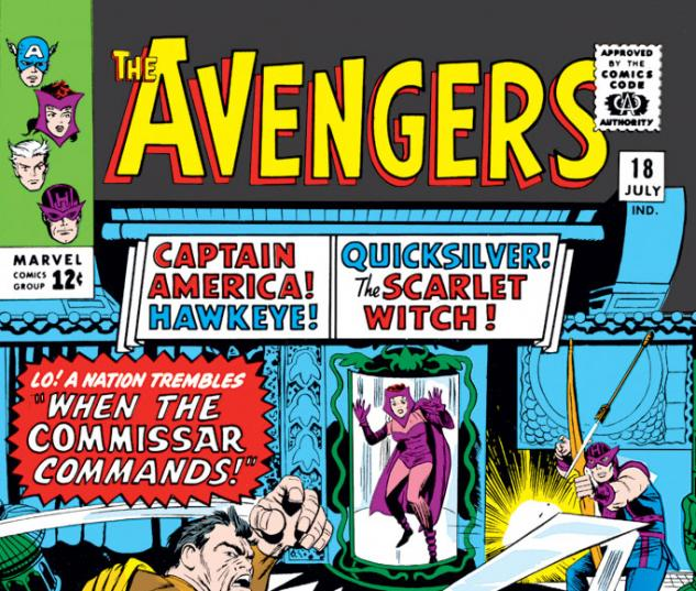 Avengers (1963) #18 cover